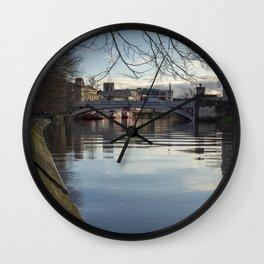 Lendal Bridge, York Wall Clock