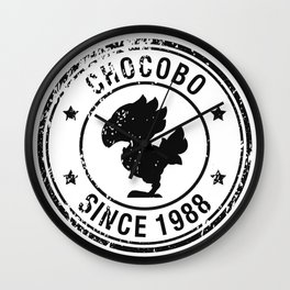 Chocobo since 1988 - Final Fantasy series Wall Clock