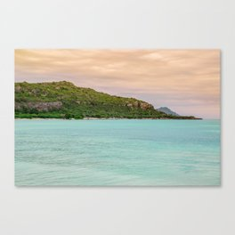 Colorful Day at the Beach Canvas Print