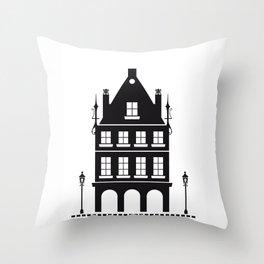 Casitas (03) Throw Pillow