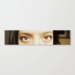 i'll be watching you Canvas Print