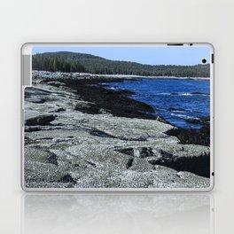 Barnacle Rocks at Acadia Laptop & iPad Skin