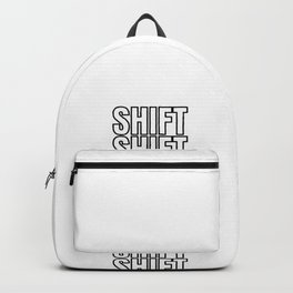 Shift Turn Tuning Car Motorcycle Gift Backpack