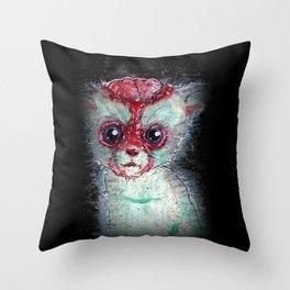 Kitty Popped Throw Pillow