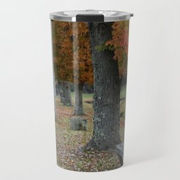 Autumn Bench Travel Mug
