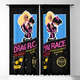 Rupaul's Drag Race - 8 Bit NES Blackout Curtain