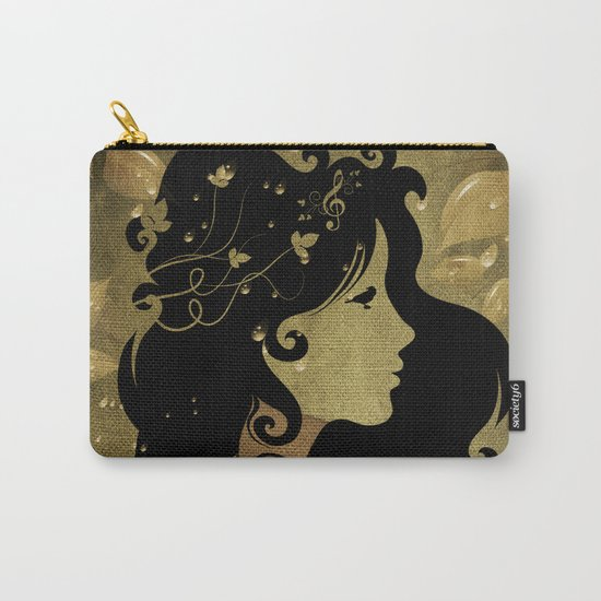 spring rain - by Viviana Gonzalez Carry-All Pouch