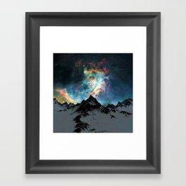 NORTHERN LIGHT ALASKA Framed Art Print