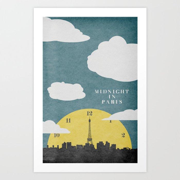 Attractive Midnight In Paris Art Print by travisenglish | Society6 DG86
