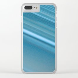 LINES OF BLUE #1 #decor #art #society6 Clear iPhone Case