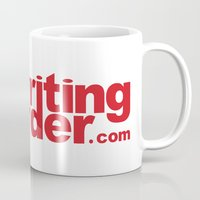 writing Mugs featuring Writing Disorder by writingdisorder