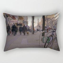Street in Vienna Rectangular Pillow