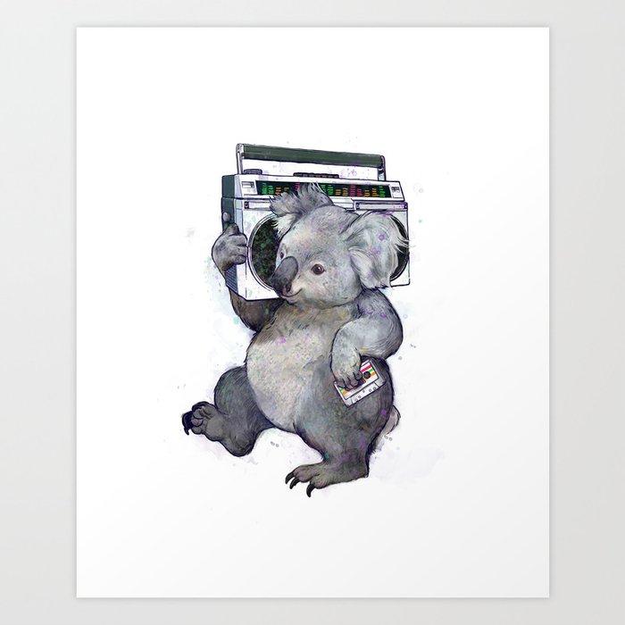 koala  Kunstdrucke