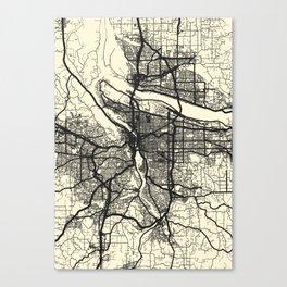 Portland,OR Canvas Print