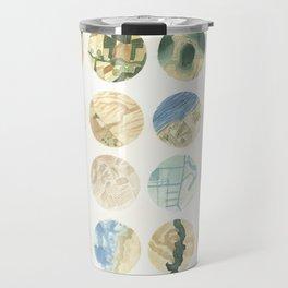 Perspective/dimension Travel Mug