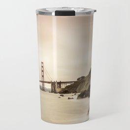 San Francisco Baker beach Travel Mug