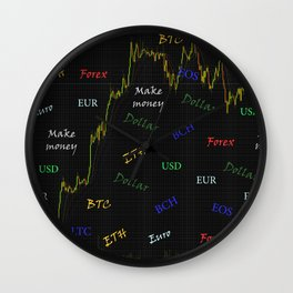 For trader Wall Clock