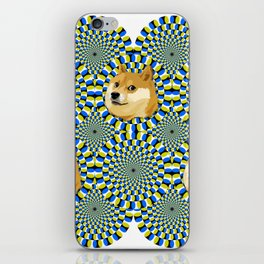 Dogelusion, the best illusion iPhone Skin