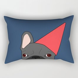 Birthday Frenchie Rectangular Pillow