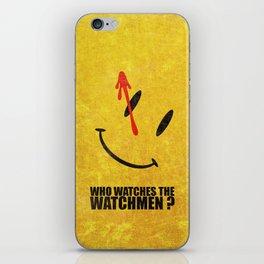 The Watchmen (Super Minimalist series) iPhone Skin