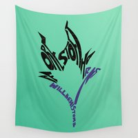 maleficent Wall Tapestries featuring maleficent by pokegirl93