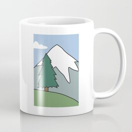 Landscape from the living room of the Griffin family #1 Coffee Mug
