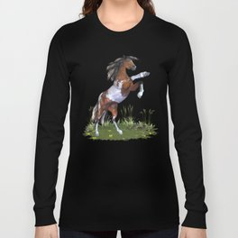 Rearing Horse Long Sleeve T-shirt