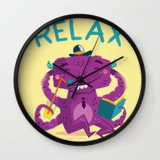 :::Relax Monster::: Wall Clock