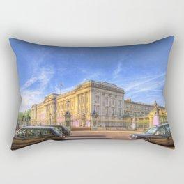 Buckingham Palace And london Taxis Rectangular Pillow