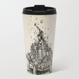 Tortoise Town Travel Mug