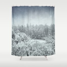 winterscape Shower Curtain