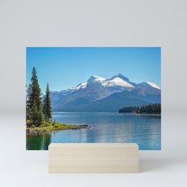 Morning at Lake Maligne Mini Art Print