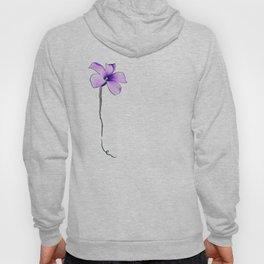 Purple bloom Hoody