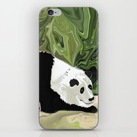 lee pace iPhone & iPod Skins featuring Driving at Panda Pace by Distortion Art