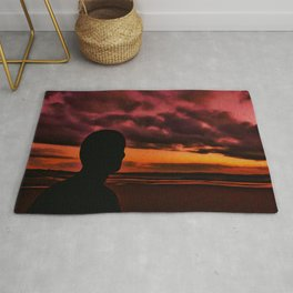 Watching the Sun go down Rug