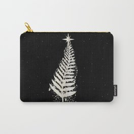 New Zealand SIlver Fern Christmas Tree Carry-All Pouch