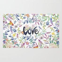 Love flowers Rug