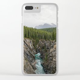 One Way Road Clear iPhone Case