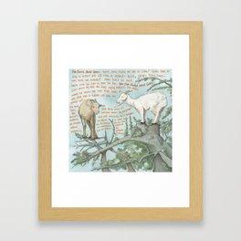 Goats 1 Framed Art Print