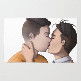 Kissing (no BG) Rug