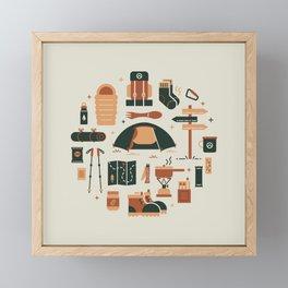 Thru Hiker Framed Mini Art Print