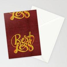 RestLess. Stationery Cards
