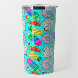 Pool Float Party Travel Mug