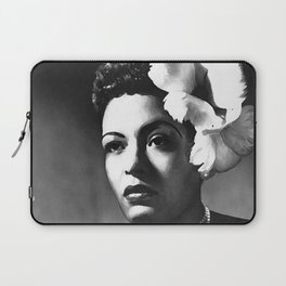 painting of Billie Holiday Laptop Sleeve