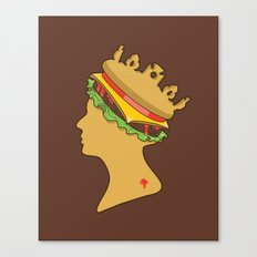 Burger Queen aka Royal With Cheese Canvas Print