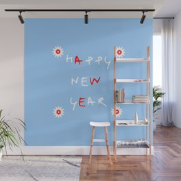 happy new year 14 Wall Mural