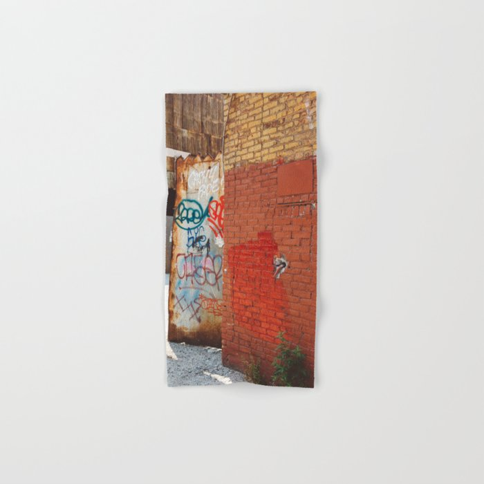 Greenpoint Graffiti III Hand & Bath Towel