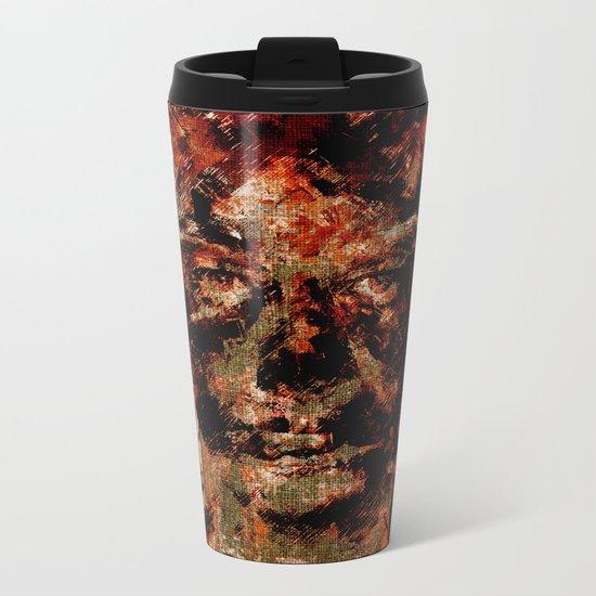 Oblivious People Metal Travel Mug