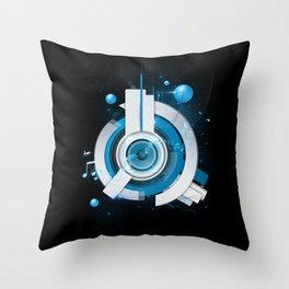 Music Beacon Throw Pillow
