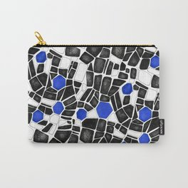 Inverted Floor Tile Carry-All Pouch